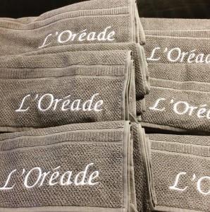 Door textiel te borduren, krijgt het door de reliëfwerking en de glans van het garen een luxe uiTstraling. Borduren kan worden toegepast OP vele textielsoorten. Op bijvoorbeeld handdoeken, badjassen, caps, polo's, sweaters en vesten.